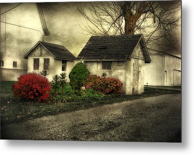 Metal Print featuring the photograph Country Charm by Mary Timman