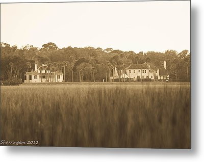 Metal Print featuring the photograph Country Estate by Shannon Harrington