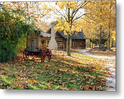 Country Living Metal Print by Franklin Conour