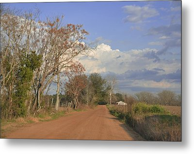 Country Road Metal Print by Jan Amiss Photography
