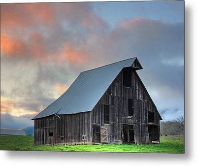 Country Sunset Metal Print by Tyra  OBryant