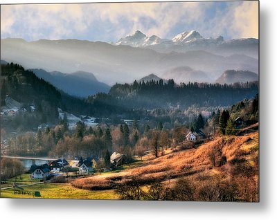 Countryside. Slovenia Metal Print