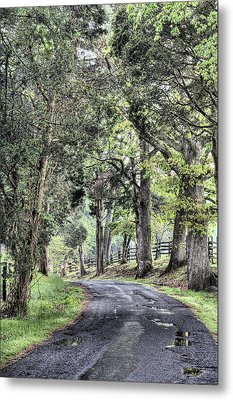 County Roads Metal Print by JC Findley