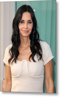 Courteney Cox In Attendance For Atas Metal Print by Everett