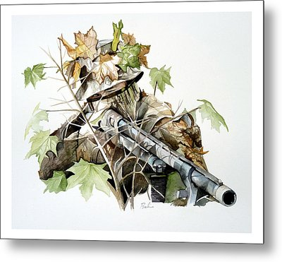 Covered And Ready Metal Print by Dana Bellis