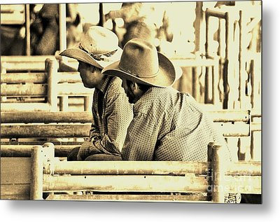 Cowboys Metal Print by Don Youngclaus