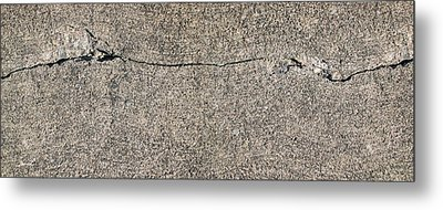 Cracks 1 Metal Print by The Art of Marsha Charlebois