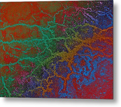 Metal Print featuring the photograph Cracks by David Pantuso