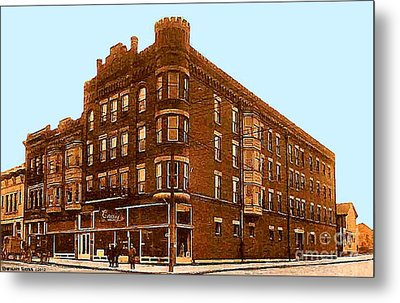 Craig And Sons Department Store In Cambridge Oh Metal Print by Dwight Goss