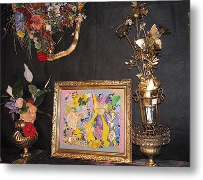 Creating Is My Life Metal Print by HollyWood Creation By linda zanini
