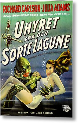 Creature From The Black Lagoon, Aka Metal Print by Everett