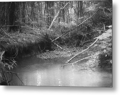 Creek Metal Print by Floyd Smith