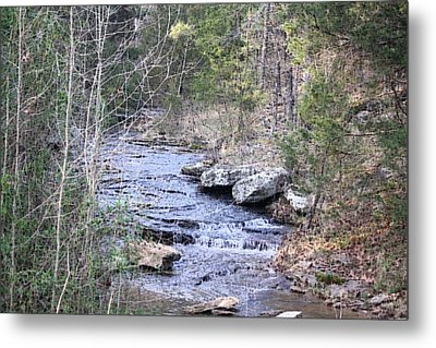 Metal Print featuring the photograph Crooked Creek by Donna G Smith