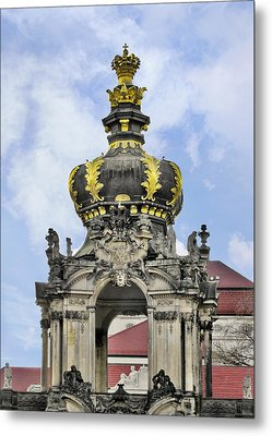Crown Gate - Kronentor Zwinger Palace Dresden Metal Print by Christine Till