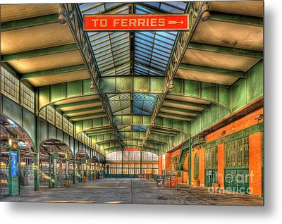 Crrnj Terminal I Metal Print by Clarence Holmes