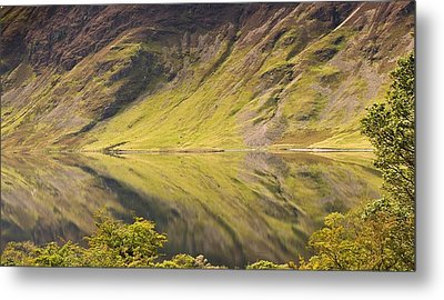 Crummock Water Metal Print by All my images are taken in the english lakedistrict