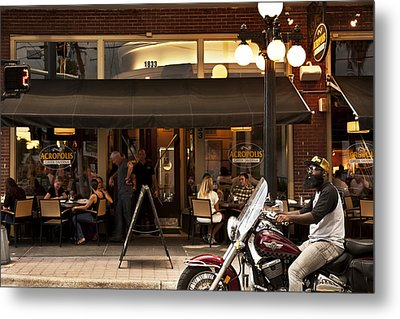 Metal Print featuring the photograph Crusin' Ybor by Steven Sparks