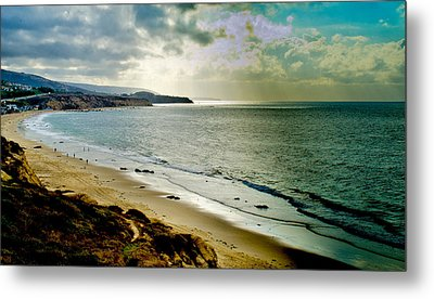 Metal Print featuring the photograph Crystal Cove Beach by Joseph Hollingsworth
