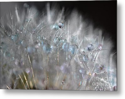 Crystal Flower Metal Print