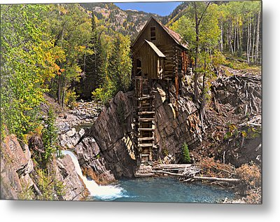 Crystal Mill 3 Metal Print by Marty Koch