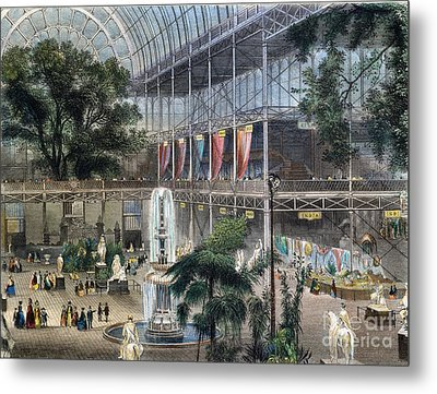 Crystal Palace Metal Print by Granger