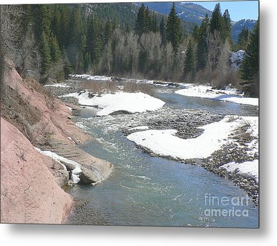 Crystal River Colorado Metal Print