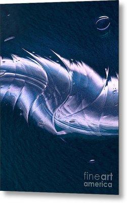 Crystalline Entity Panel 2 Metal Print by Peter Piatt