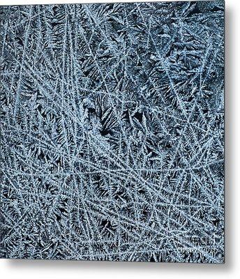 Crystals 1 Metal Print by Sabine Jacobs