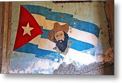 Cuban Flag Metal Print by Kimberley Bennett
