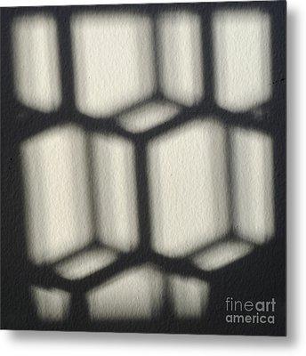 Cubes Metal Print by Luke Moore