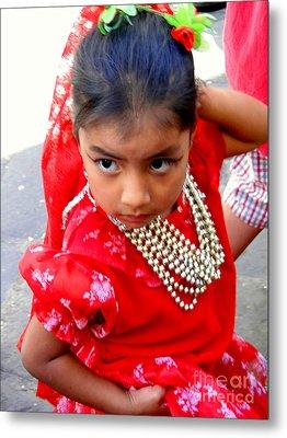 Cuenca Kids 161 Metal Print