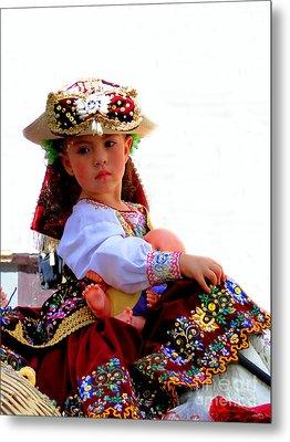 Cuenca Kids 193 Metal Print by Al Bourassa