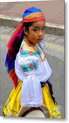 Cuenca Kids 210 Metal Print