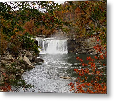 Cumberland Falls 2 Metal Print by Kathy Long