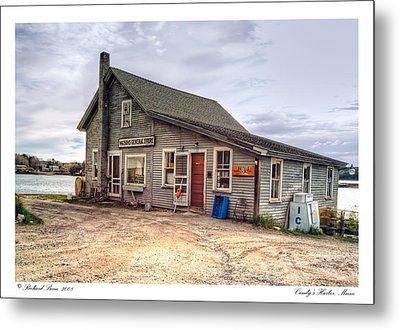Cundys Harbor Maine Metal Print by Richard Bean