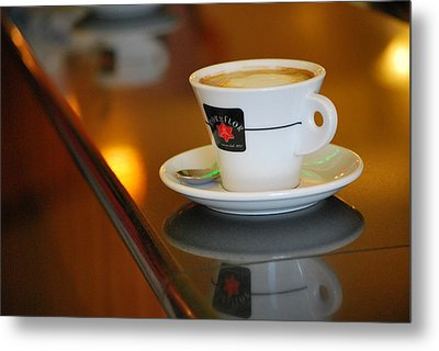 Cup Of Italy Metal Print by Amee Cave