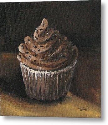 Cupcake 003 Metal Print by Torrie Smiley