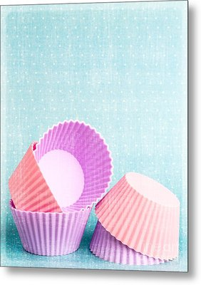 Cupcake Metal Print by Edward Fielding