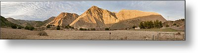 Curry Mountain Panorama Metal Print by Larry Darnell