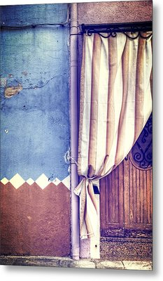 Curtain Metal Print by Joana Kruse