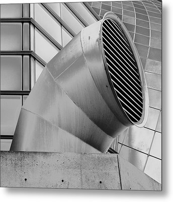 Curved Lines Metal Print by Tony Locke