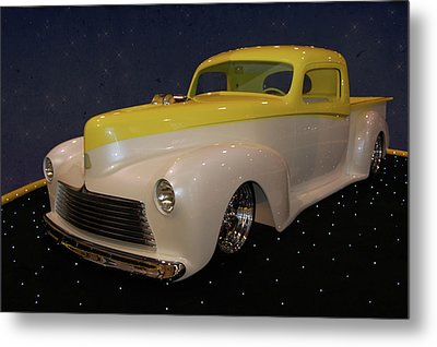 Metal Print featuring the photograph Custom Hudson Pickup by Bill Dutting