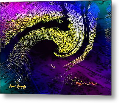 Metal Print featuring the digital art Cyclone by Sadie Reneau
