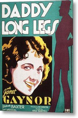 Daddy Long Legs, Janet Gaynor, 1931 Metal Print by Everett