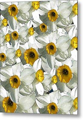 Daffodils Metal Print by Patricia Januszkiewicz