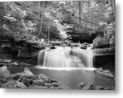 Dainty Waterfall Metal Print