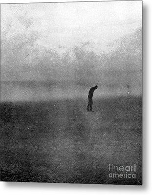 Dakota Farmer, Dust Bowl, 1935 Metal Print
