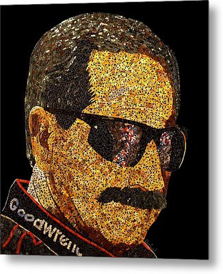 Dale Earnhardt Tribute Metal Print