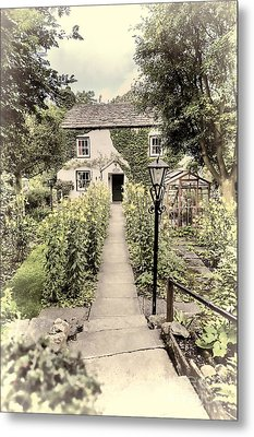 Metal Print featuring the photograph Dales Cottage Yorkshire by Jack Torcello