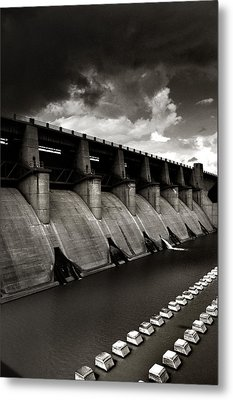 Metal Print featuring the photograph Dam-it by Brian Duram
